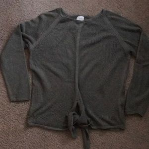 Chico's sage green sweater